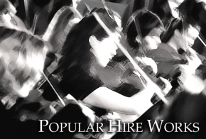 Popular hire works - Josef Weinberger Concert Library